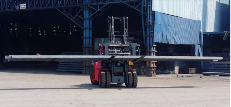 Thiên Sơn là địa chỉ cung cấp xe nâng siêu trọng 16 tấn uy tín