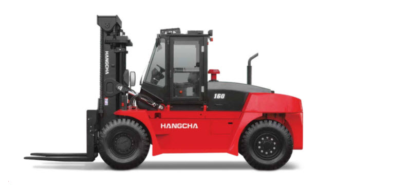 Xe nâng siêu trọng 16 tấn Hangcha được sử dụng phổ biến trong các kho xưởng hiện nay